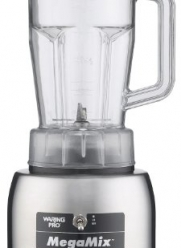 Waring HPB300 MegaMix Commercial Blender, Brushed Steel
